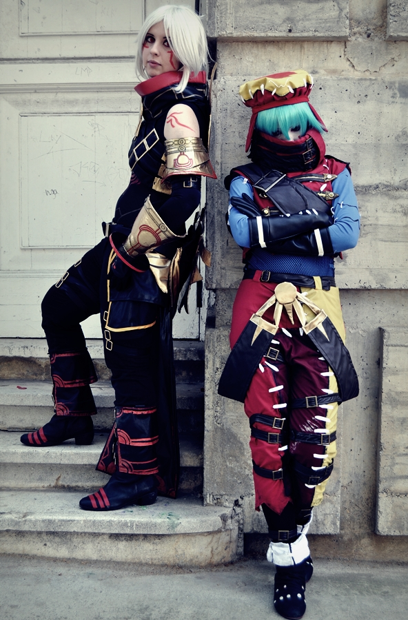 Haseo and Azure Kite by HauntedKing