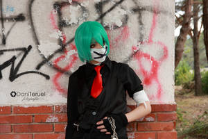 Mikuo - Color war by HauntedKing