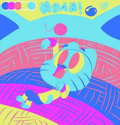 Nyan! by Arachnide-pool