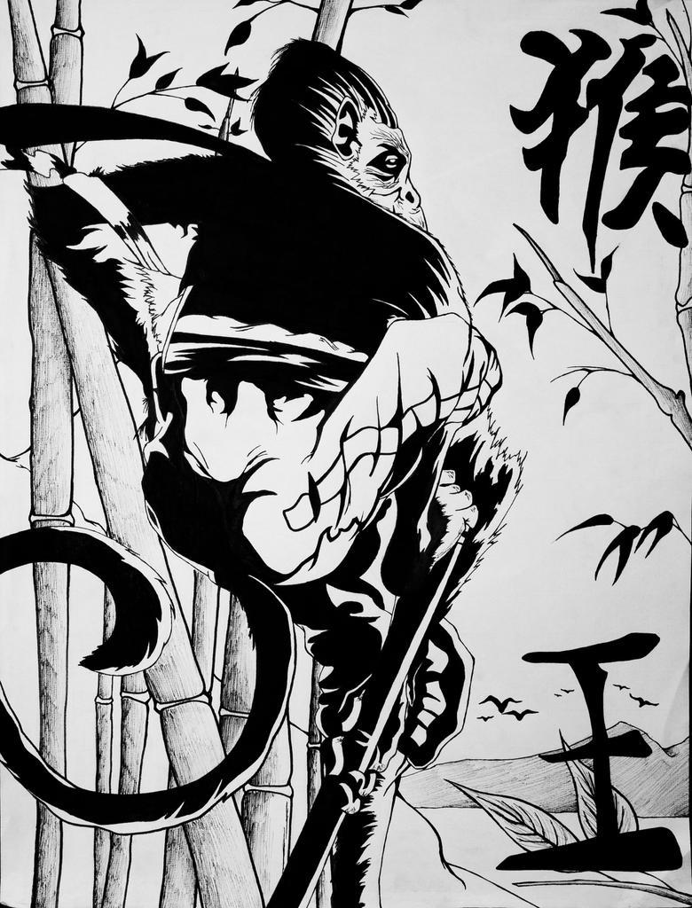 Sun Wukong (Chinese Immortal) by shaneul