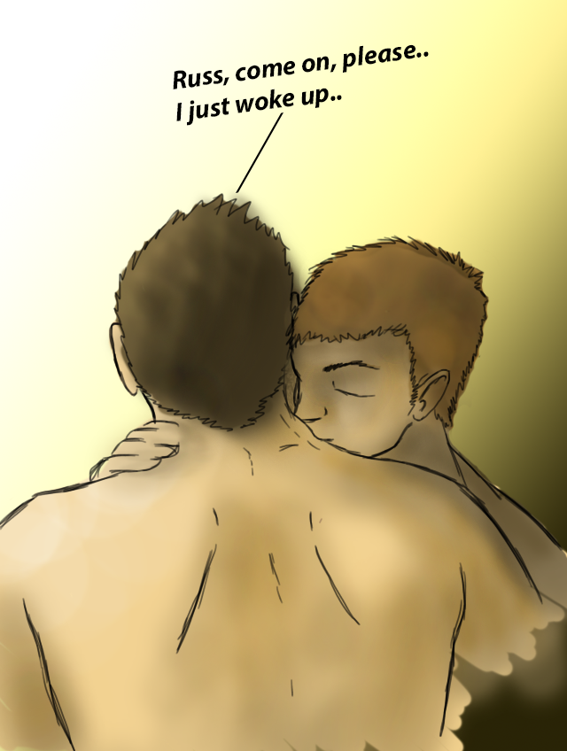 Morning Kisses - Tommy/Russell by shaneul