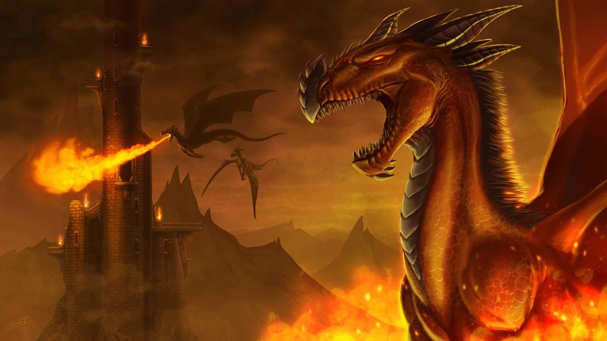 Dragons by ChuddmasterZero