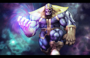 Darksei...er I mean Thanos by ChuddmasterZero