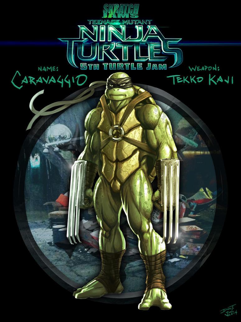 5th Turtle Jam - Caravaggio by ChuddmasterZero