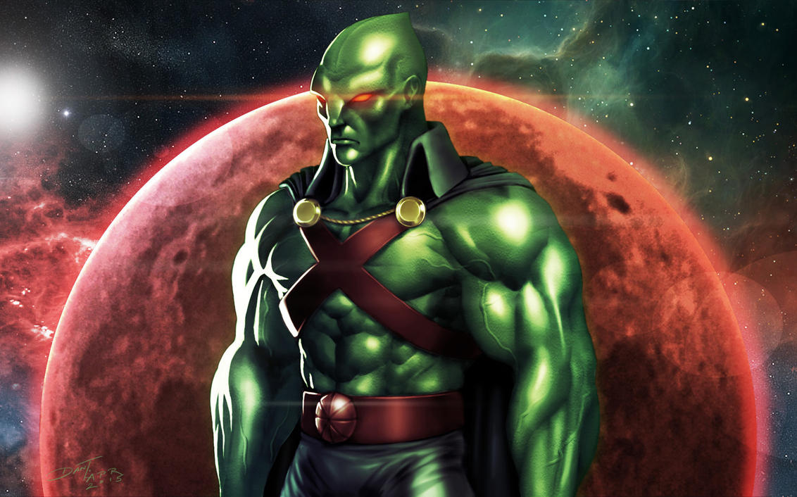 Martian Manhunter by ChuddmasterZero