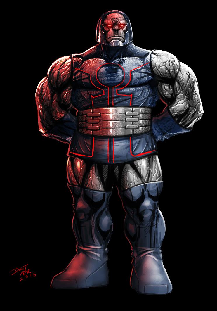 Darkseid concept by ChuddmasterZero