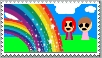 Rainbow stamp by miss-glam-flipnote