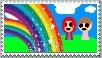Rainbow stamp by miss-glam-flipnote