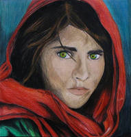 Haunted- Sharbat Gula by MidnightPhoenixx