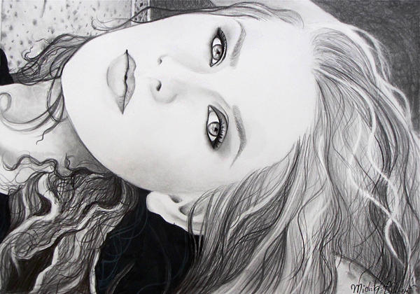 Cassandra Bankson in Graphite by MidnightPhoenixx