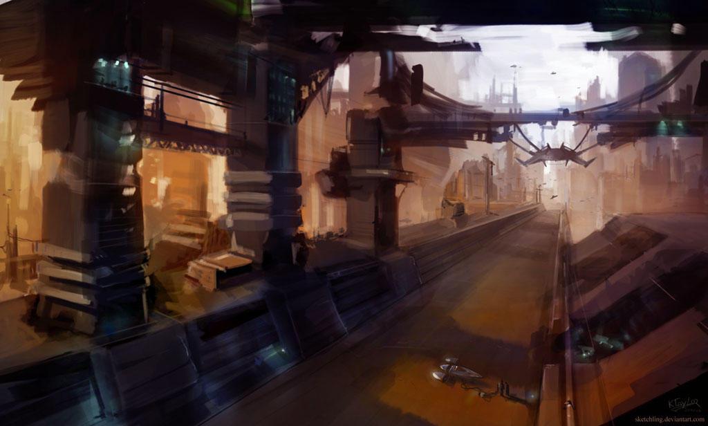 SkyDocks by sketchling