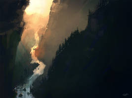 River Valley by sketchling