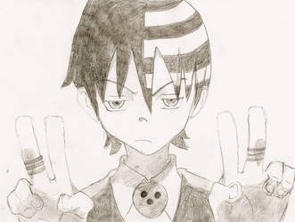 Death the kid- Soul Eater by buttercups7273