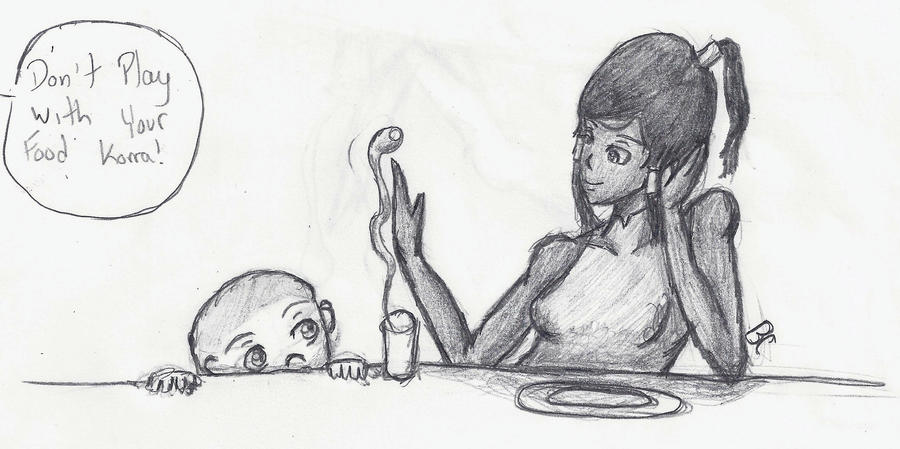 Laura's art corner Don__t_play_with_your_food__by_buttercups7273-d5hw2at