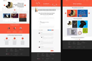 New Design Minicade Website by EmryX