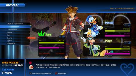 Kingdom Hearts III Menu - Concept by EmryX