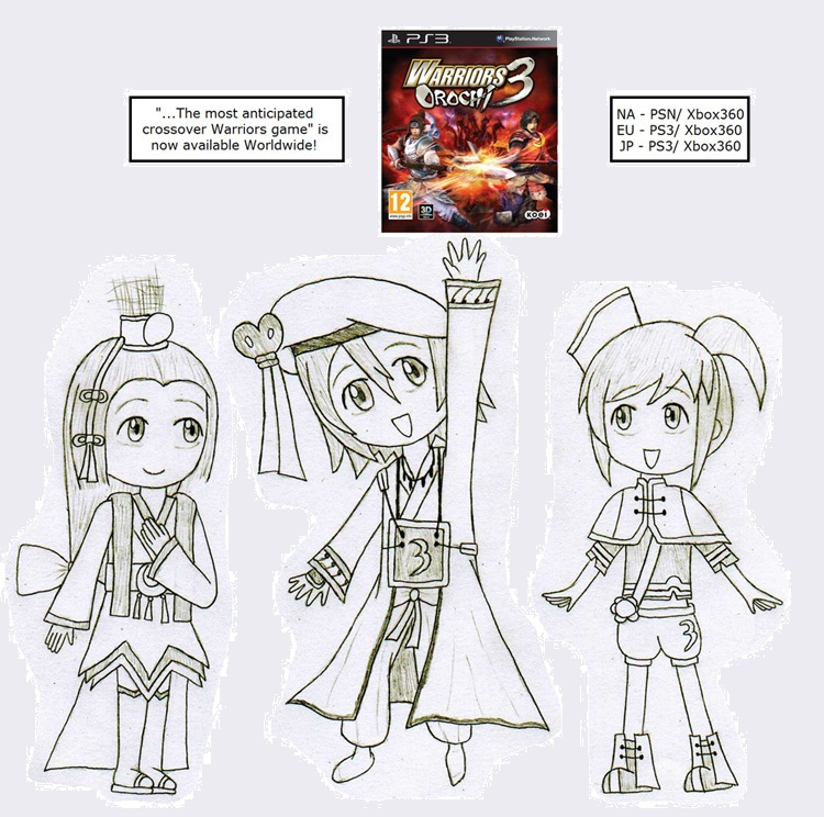 Warriors Orochi 3 Ultimate Fast Bond: Warriors Orochi 3 Worldwide By Gaming123456 On DeviantArt