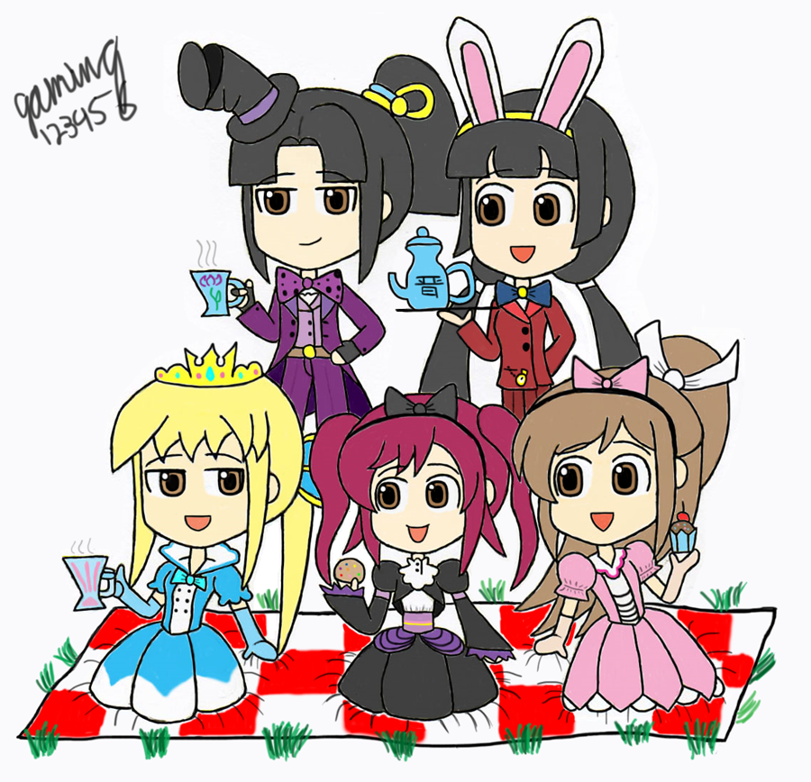 Alice In Wonderland Theme By Gaming123456 On
