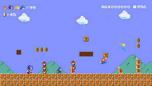 Super Mario Maker with 4-Player Coop by gaming123456
