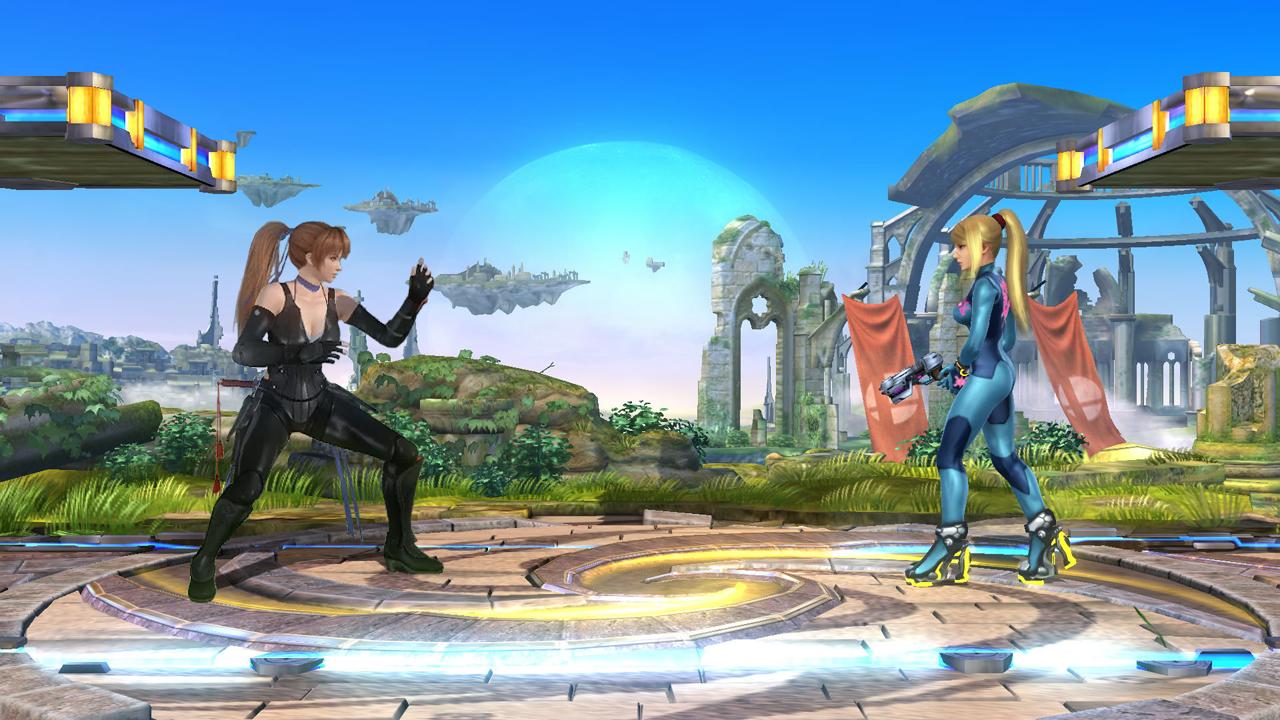 Smash Bros x DOA *Kasumi vs. Zero Suit Samus* by ...