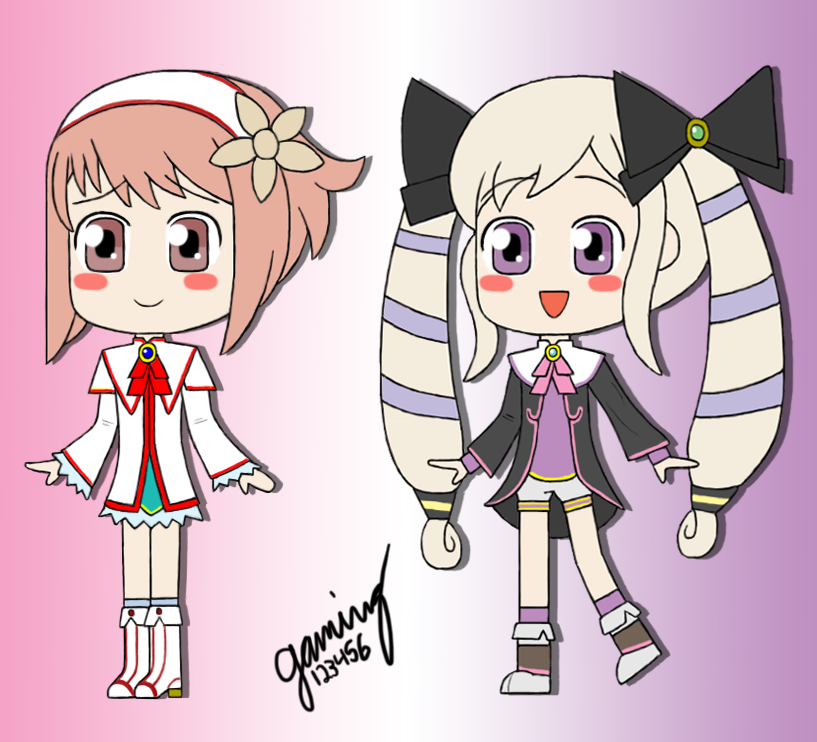 Sakura and Elise Wallpaper by sofibeth on DeviantArt