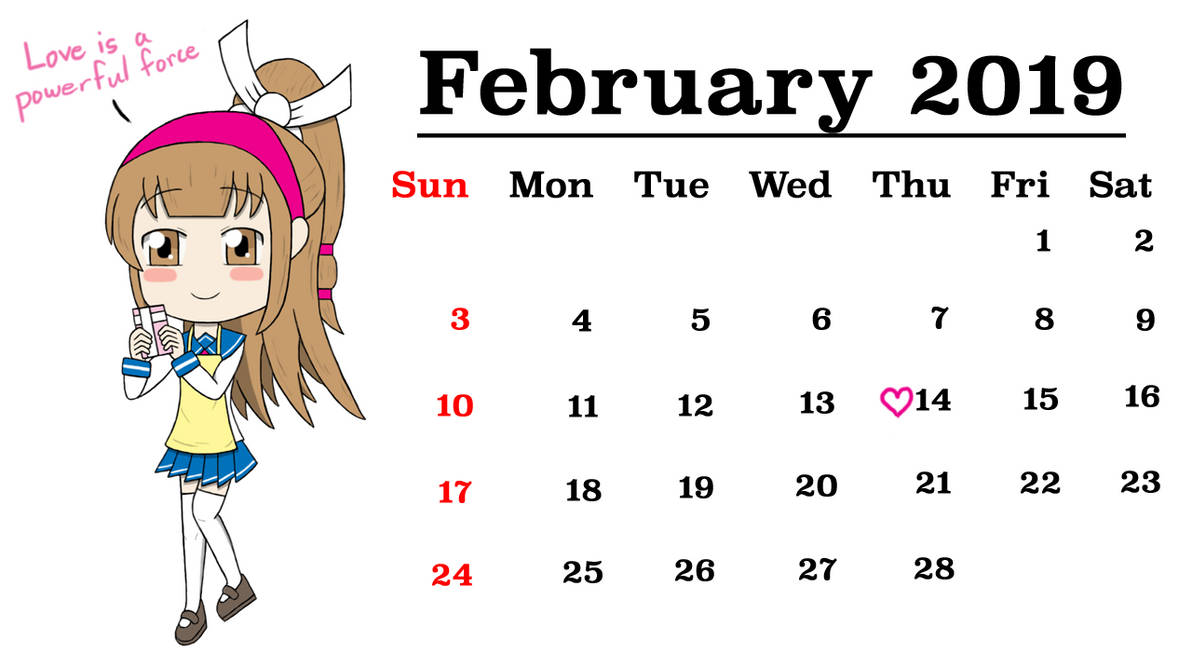 Calendar 2019 Dc February Atelier Musou Calendar 2019 *February* by gaming123456 on DeviantArt
