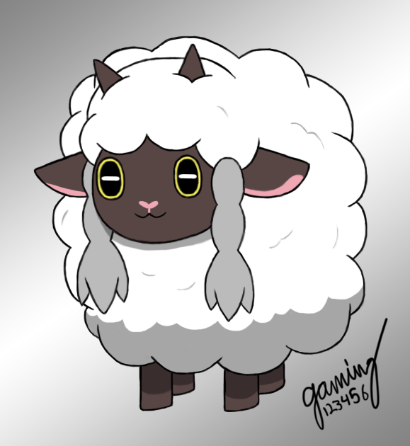 Pokemon Sword Shield Wooloo By Gaming123456 On Deviantart