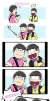 Osomatsu-san: Selfie by RyuichirouAoino