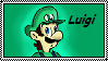 Luigi stamp by Kincello
