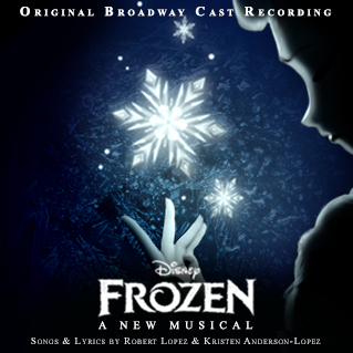 Frozen- A New Musical Album Cover (Custom-made) by HKY91