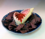 Chips and Salsa Shark Plate