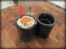 Sushi Saki Cups