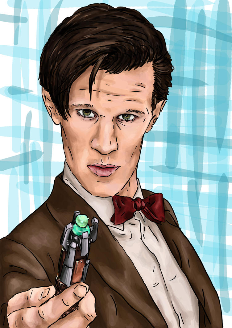 11th Doctor by yokoshimaneko1