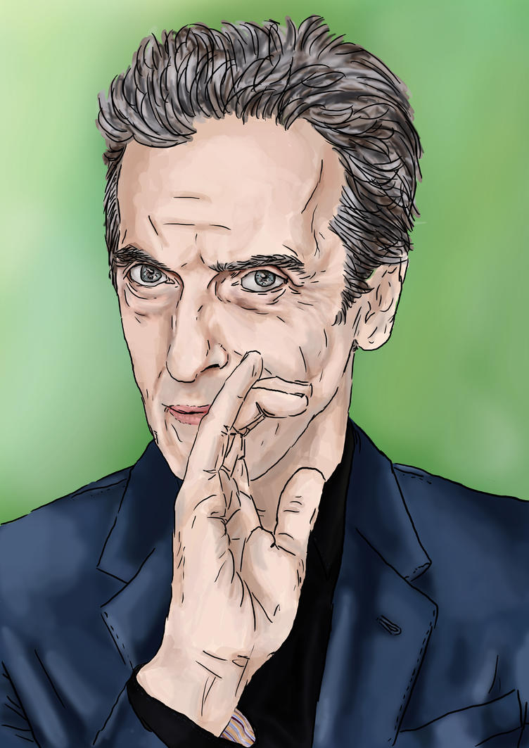 12th Doctor by yokoshimaneko1