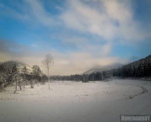 A weird winter morning by HomemadeboY