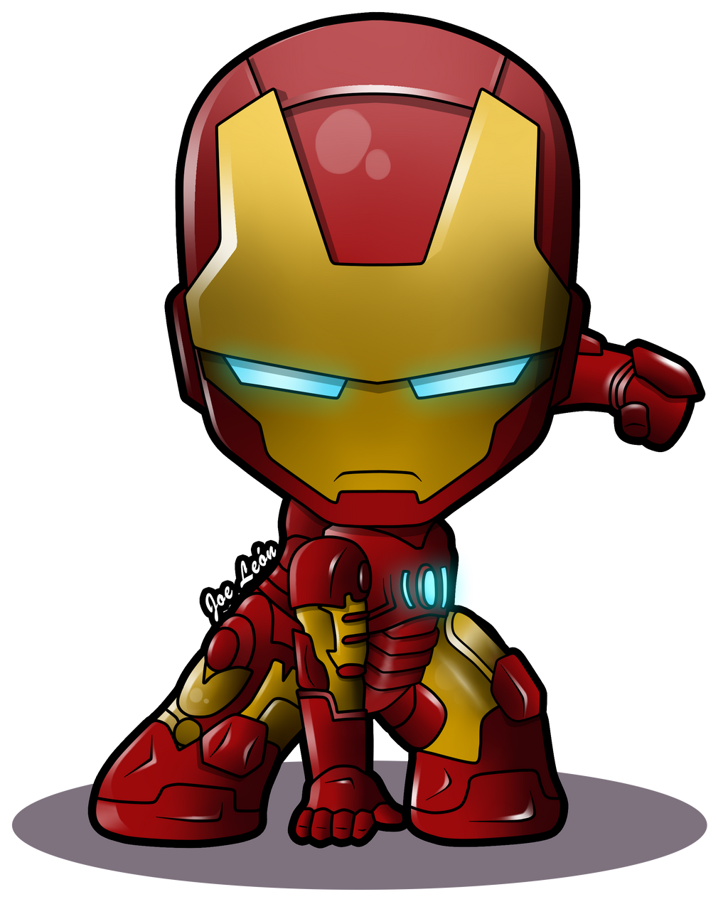 Iron-Man Chibi by JoeLeon on DeviantArt