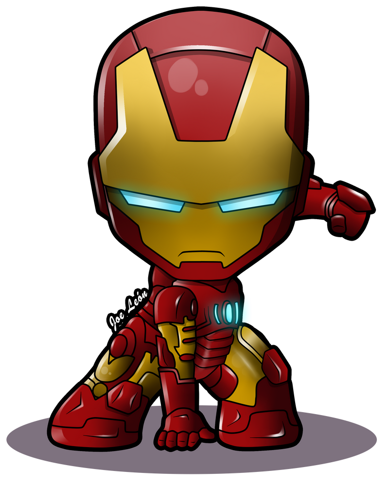 Iron Man. Am I the only one that finds this picture adorable ...