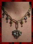 Steampunk Bumblebee Necklace