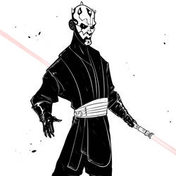 Darth Maul - May the 4th be with you! by Serchz