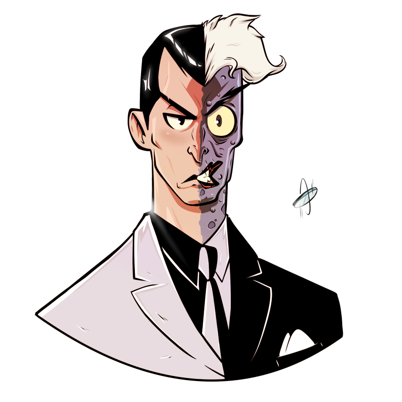Two-face by Serchz