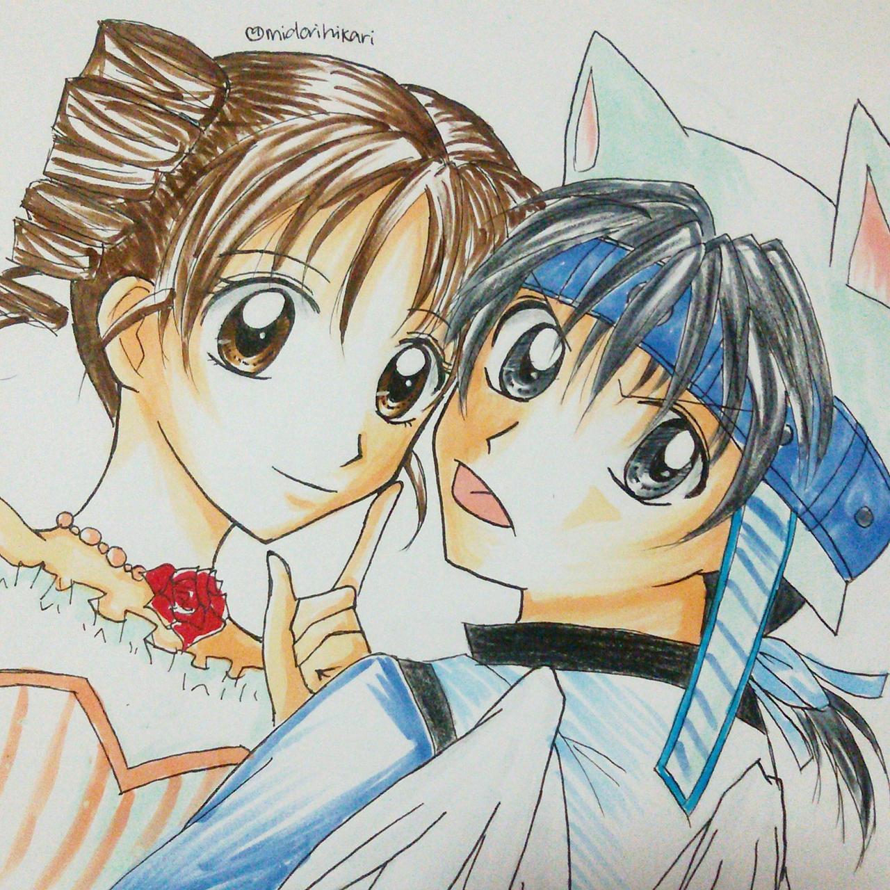 mitsuki and takuto full moon wo sagashite by tsukino