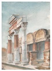 Pompeii, forum by hanestetico