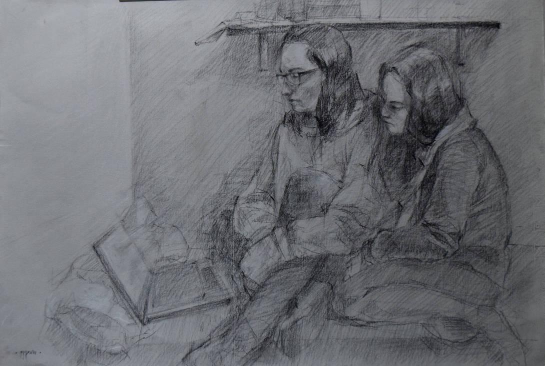 My roommates by hanestetico