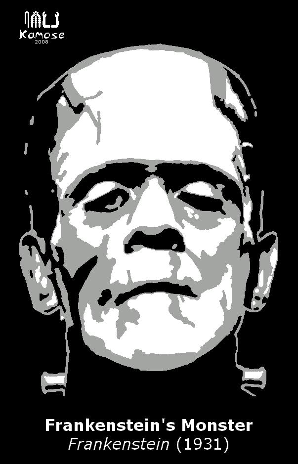 Frankenstein pumpkin pattern by kamose on deviantart for Frankenstein pumpkin templates