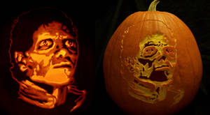 Michael Jack-o'-lantern