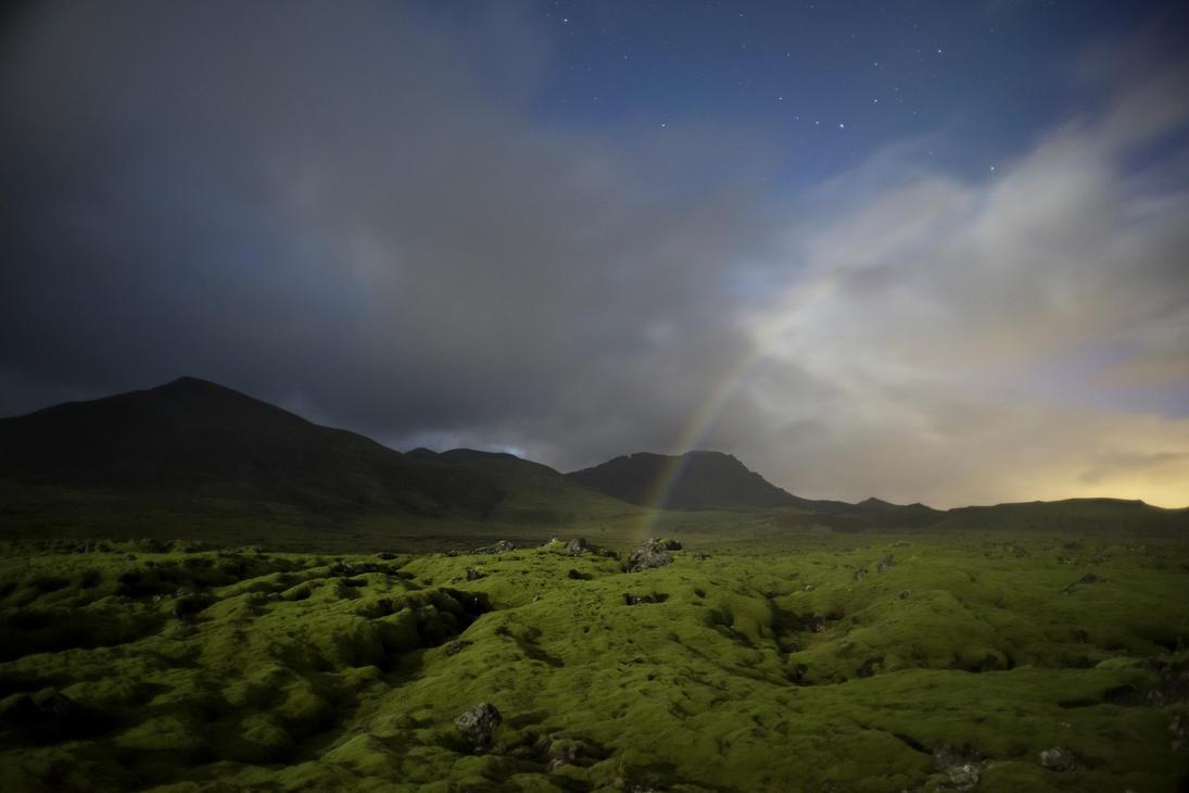 Night Rainbow by padraig13
