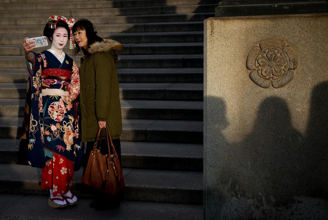 Selfies of a Geisha by padraig13