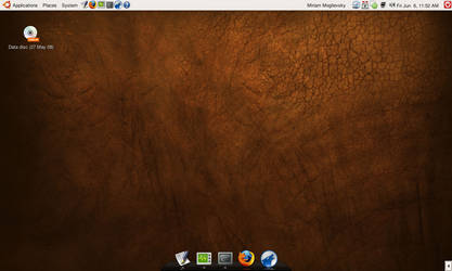 Ubuntu 8.04 - Hardy Heron by shrewdcat