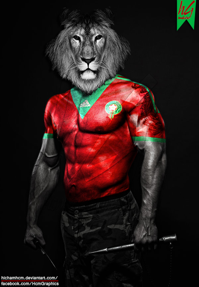 Morocco Body Paint by hichamhcm