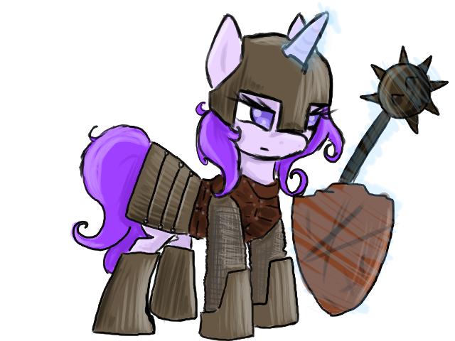 Swadian Knight Pony by ACharmingPony